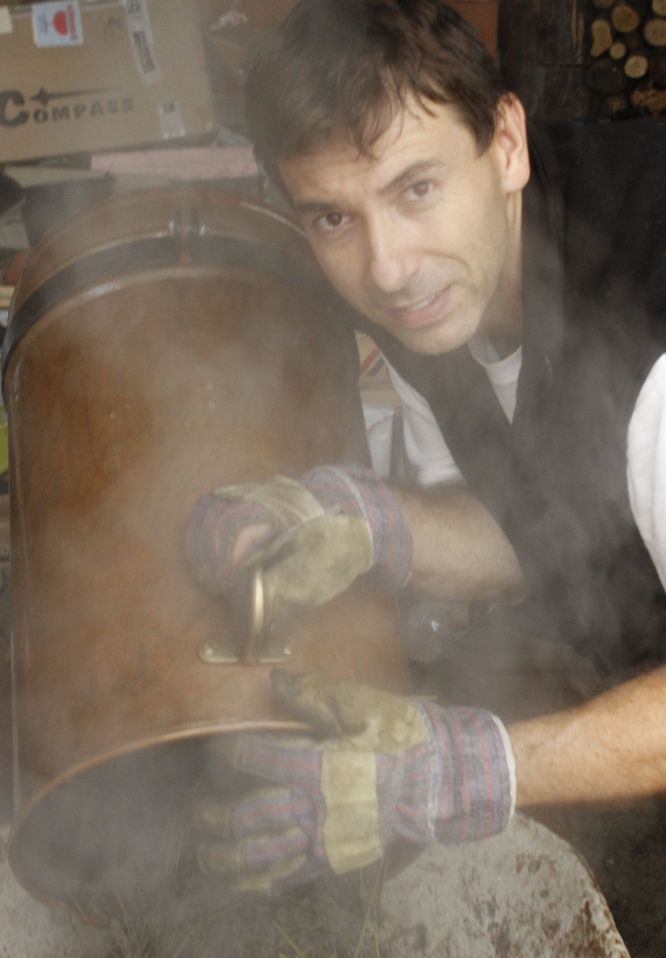 parní destilace